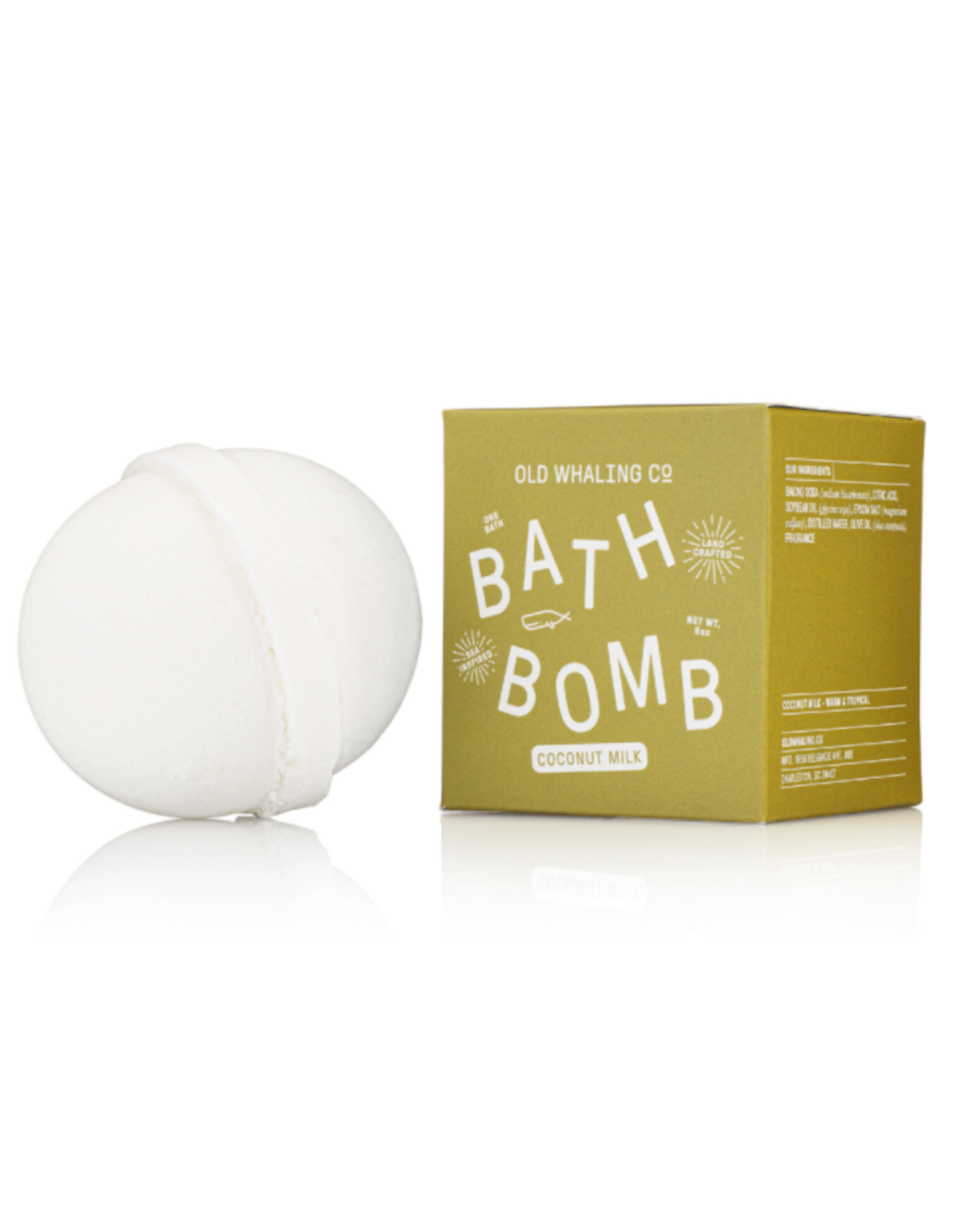 Old Whaling Co. Coconut Milk Bath Bomb