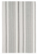 Dash & Albert Gradation Ticking Woven Cotton Rug 2x3