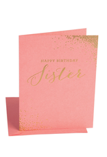 The Social Type Birthday Sister Card