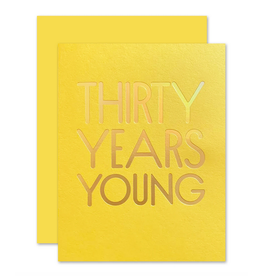 The Social Type 30 Years Young Card