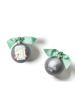 Coton Colors Home Sweet Home Glass Ornament
