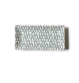 Coton Colors Outline Pine Tree Rectangle Tray