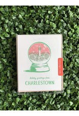 Smudge Ink Charlestown Snow Globe Holiday Card Boxed Set