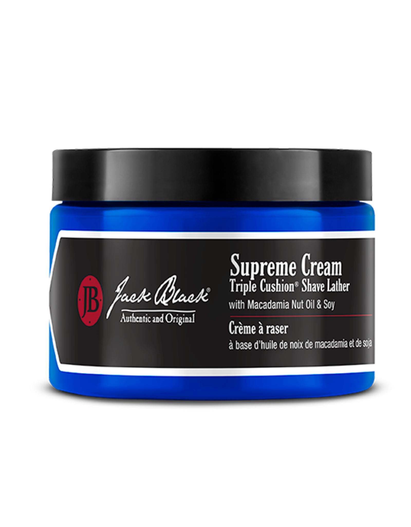 Jack Black Supreme Cream Triple Cushion Shave Lather, 9.5oz by Jack Black