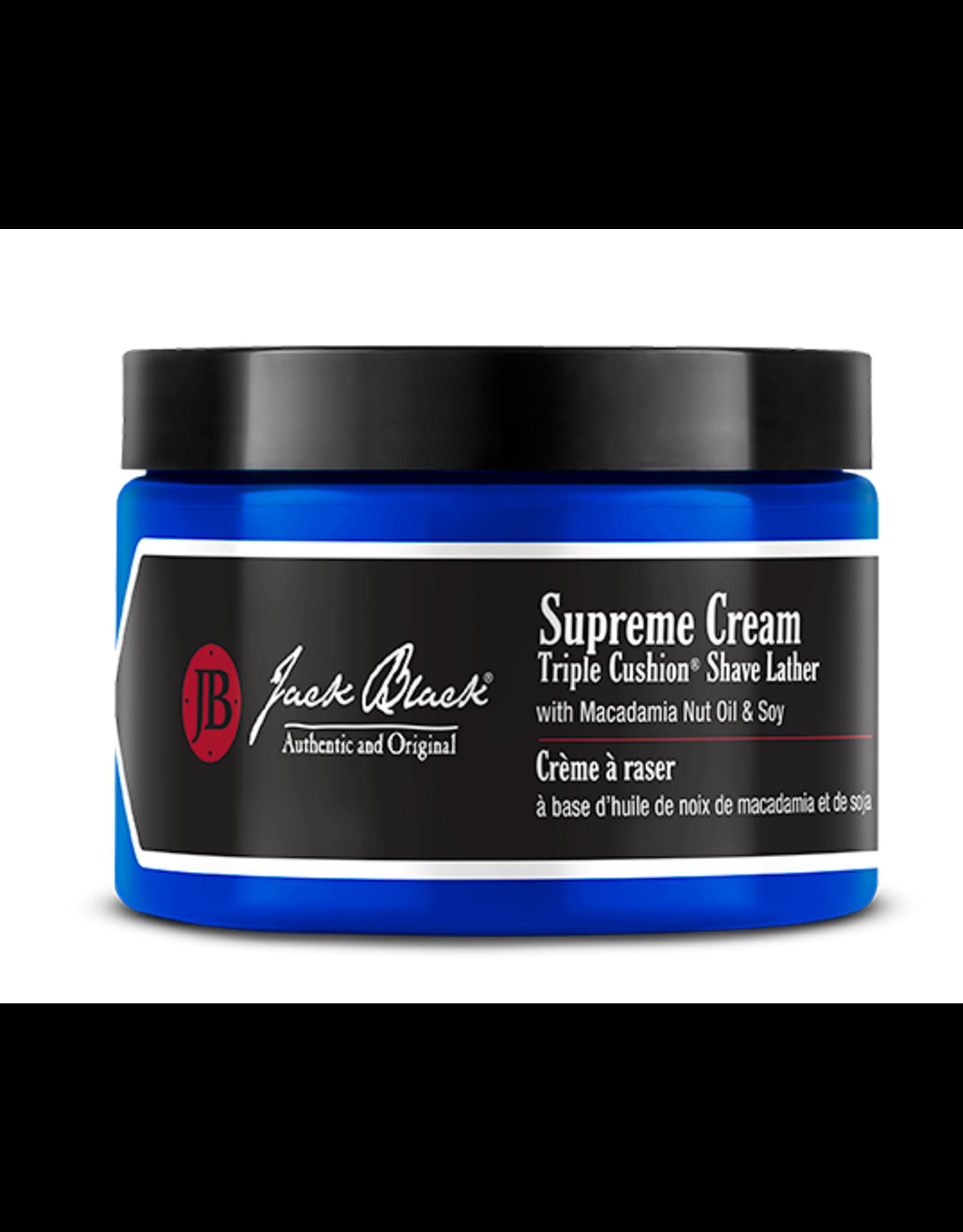Jack Black Supreme Cream Triple Cushion Shave Lather, 9.5oz by Jack Black
