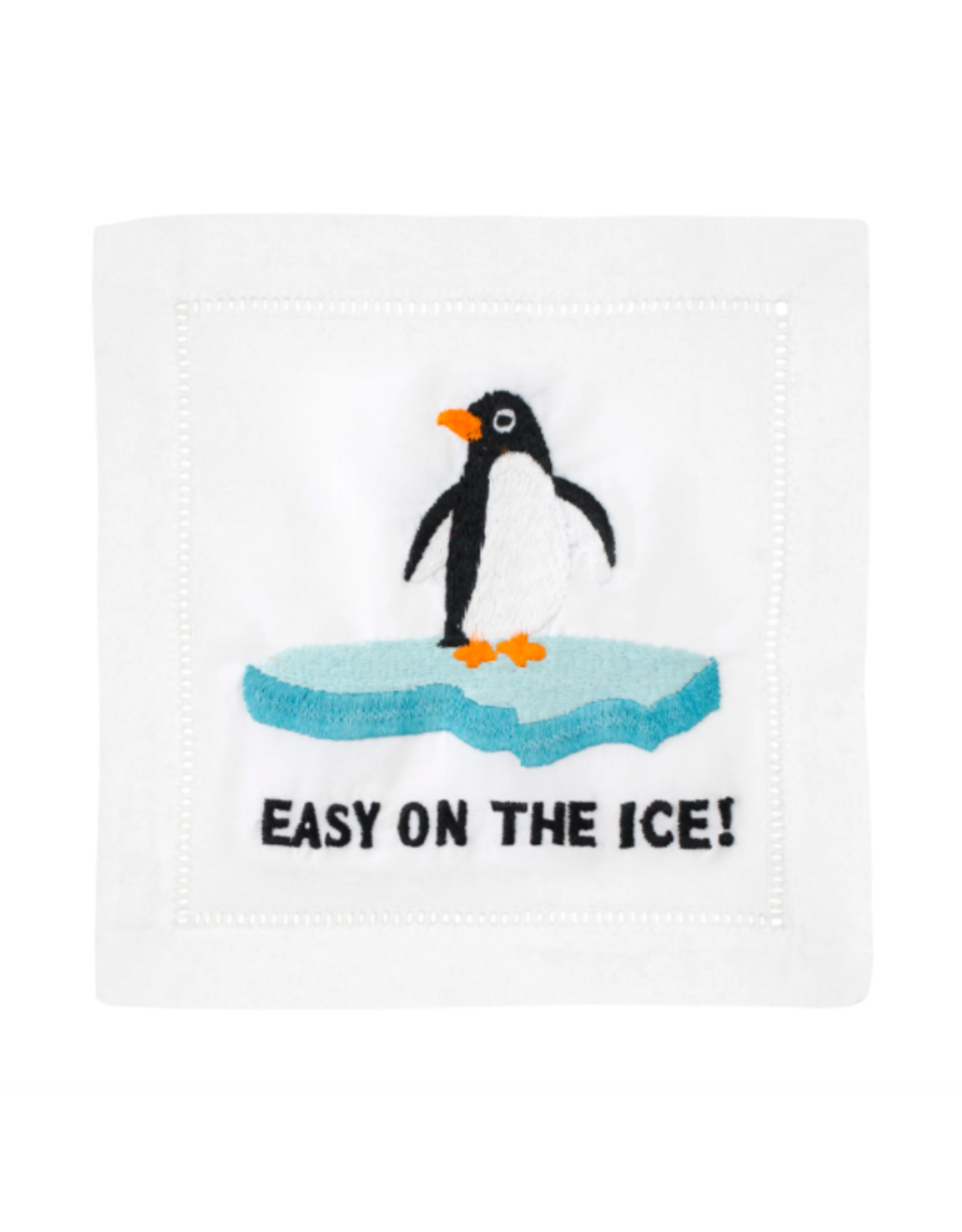 August Morgan Easy on the Ice Cocktail Napkin