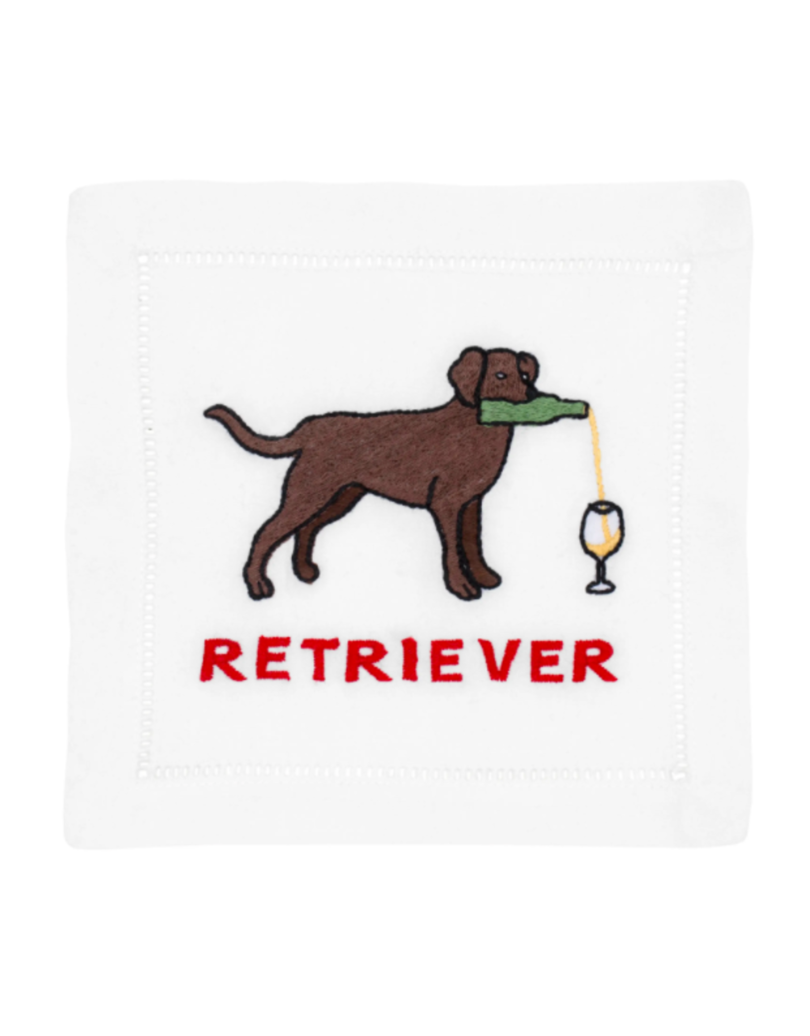 August Morgan Labrador Retriever Cocktail Napkin