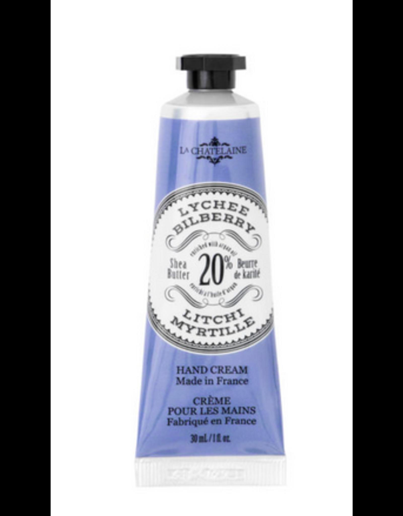 La Chatelaine Lychee Bilberry Hand Cream