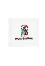 August Morgan Owl Have Another Cocktail Napkin
