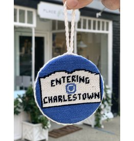 Smathers & Branson Entering Charlestown Needlepoint Ornament