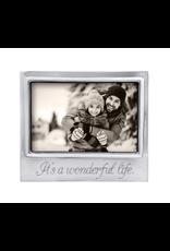 Mariposa It's A Wonderful Life Signature 4x6 Frame