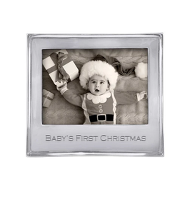 Mariposa Baby's First Christmas Signature 5x7 Frame