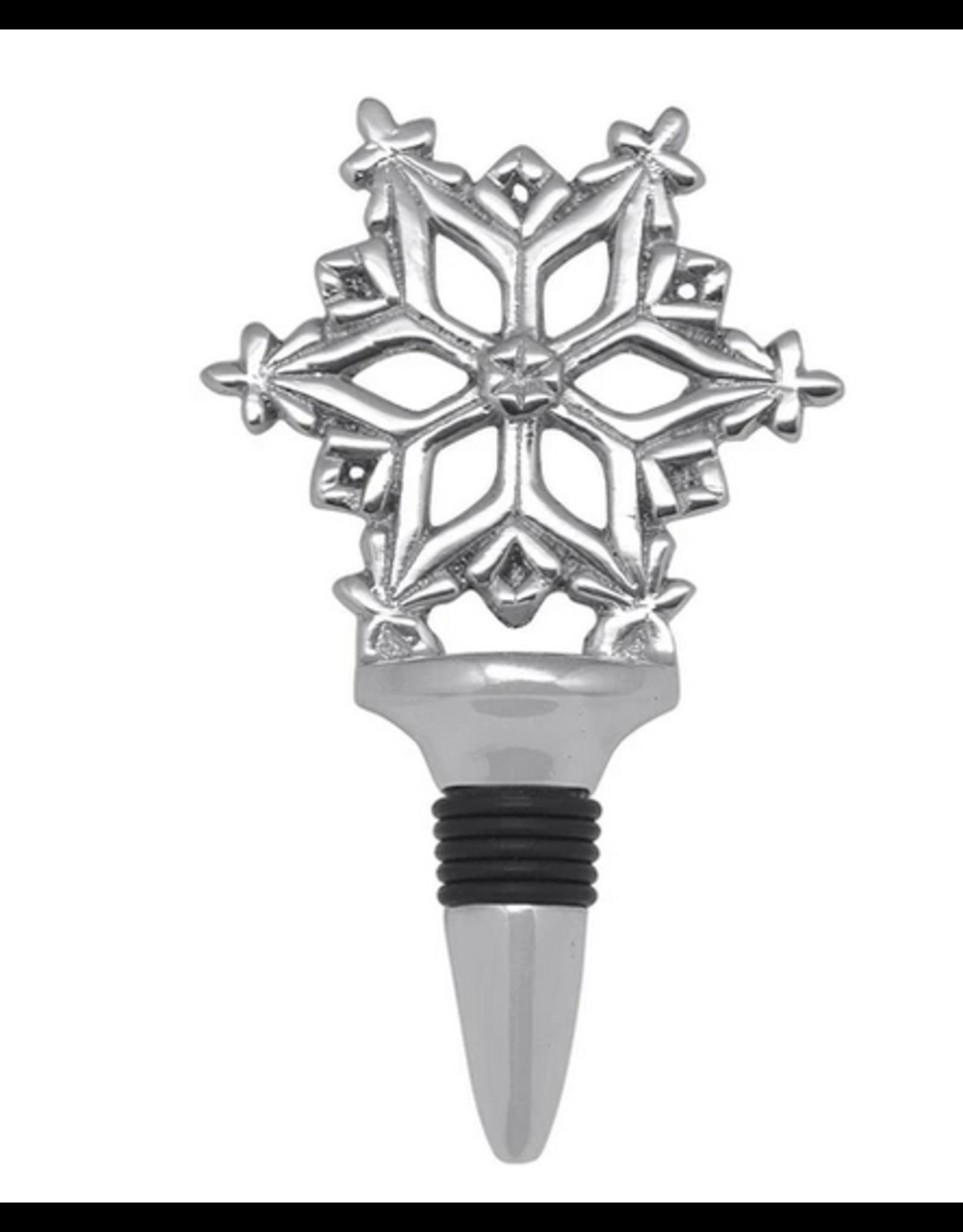 Mariposa Open Snowflake Wine Bottle Stopper