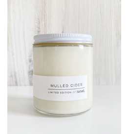 Noted Mulled Cider Candle
