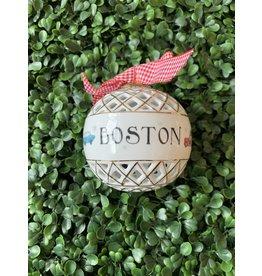 Dishique Boston Lattice Sphere Ornament