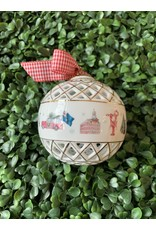Dishique Boston Lattice Sphere Ornament