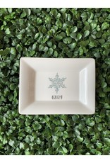 Dishique 02129 Snowflake Mini Dish