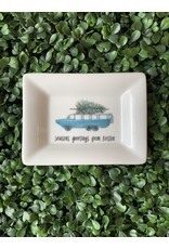 Dishique Duck Boat with Tree Mini Dish