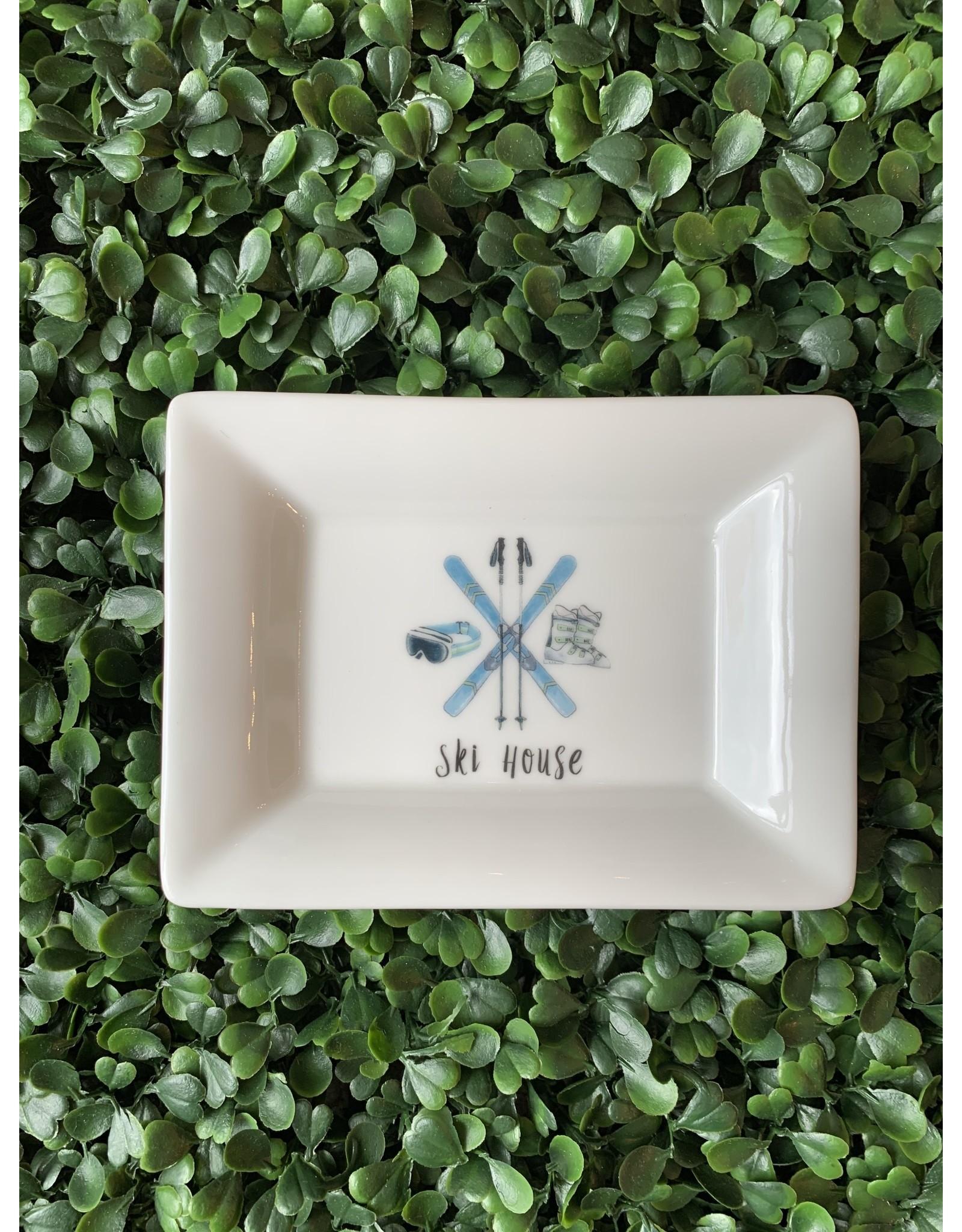 Dishique Ski House Mini Dish
