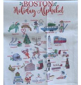 Dishique Boston Holiday Tea Towel