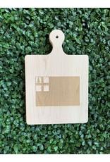 Maple Leaf at Home Bunker Hill Flag 9x6 Handled Board