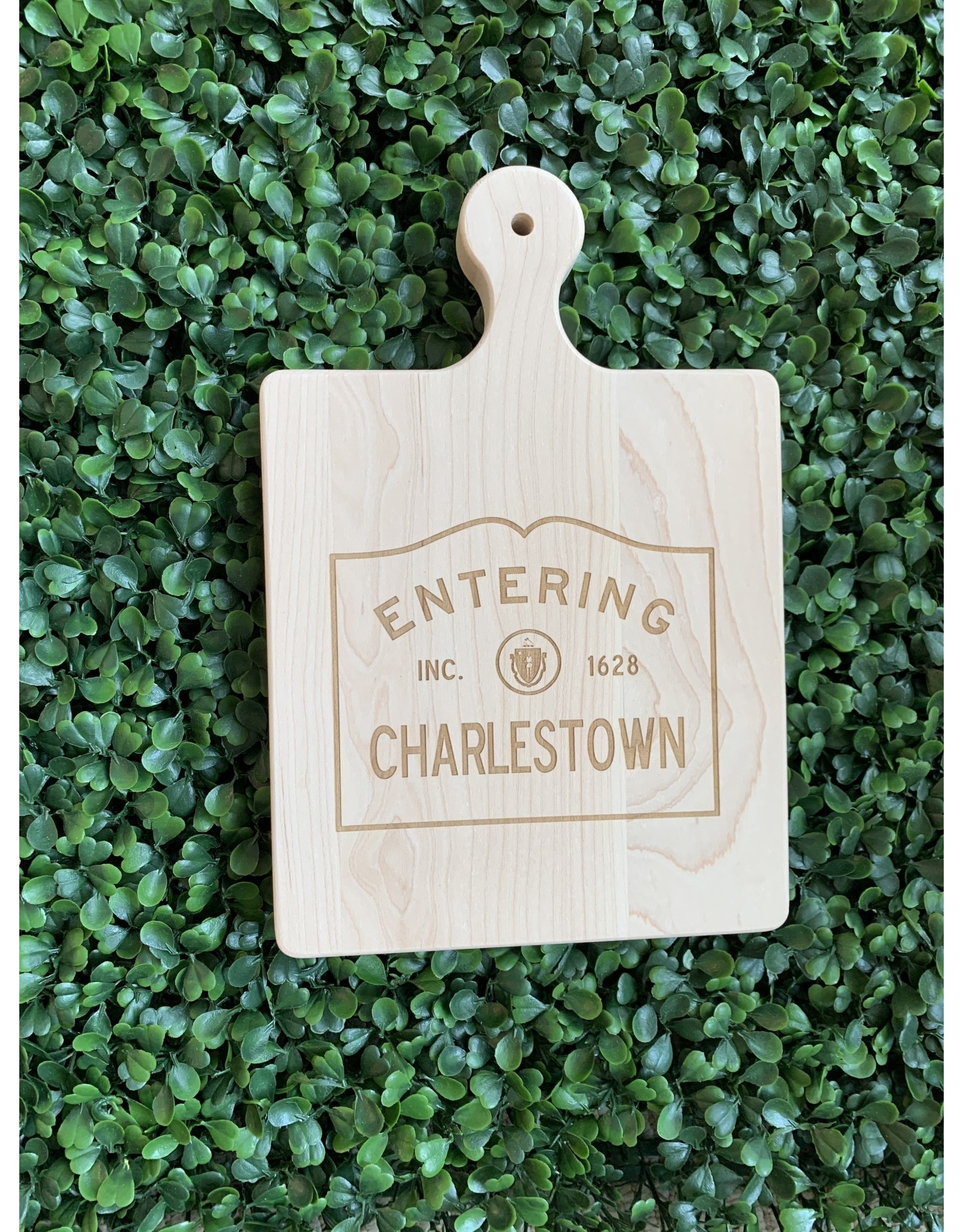 Maple Leaf at Home Entering Charlestown 9x6 Maple Handled Board