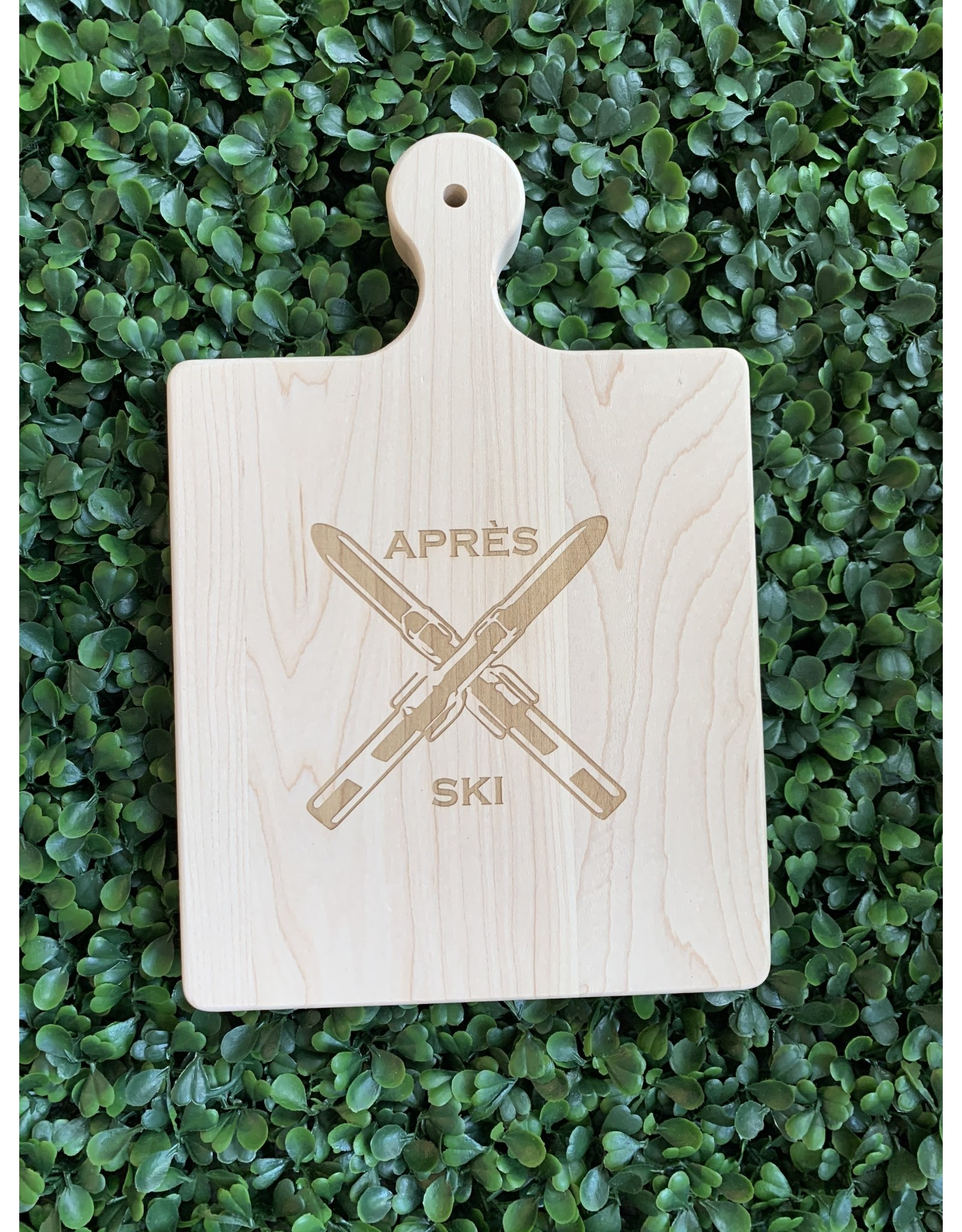 Maple Leaf at Home Apres Ski 9x6 Maple Handled Board