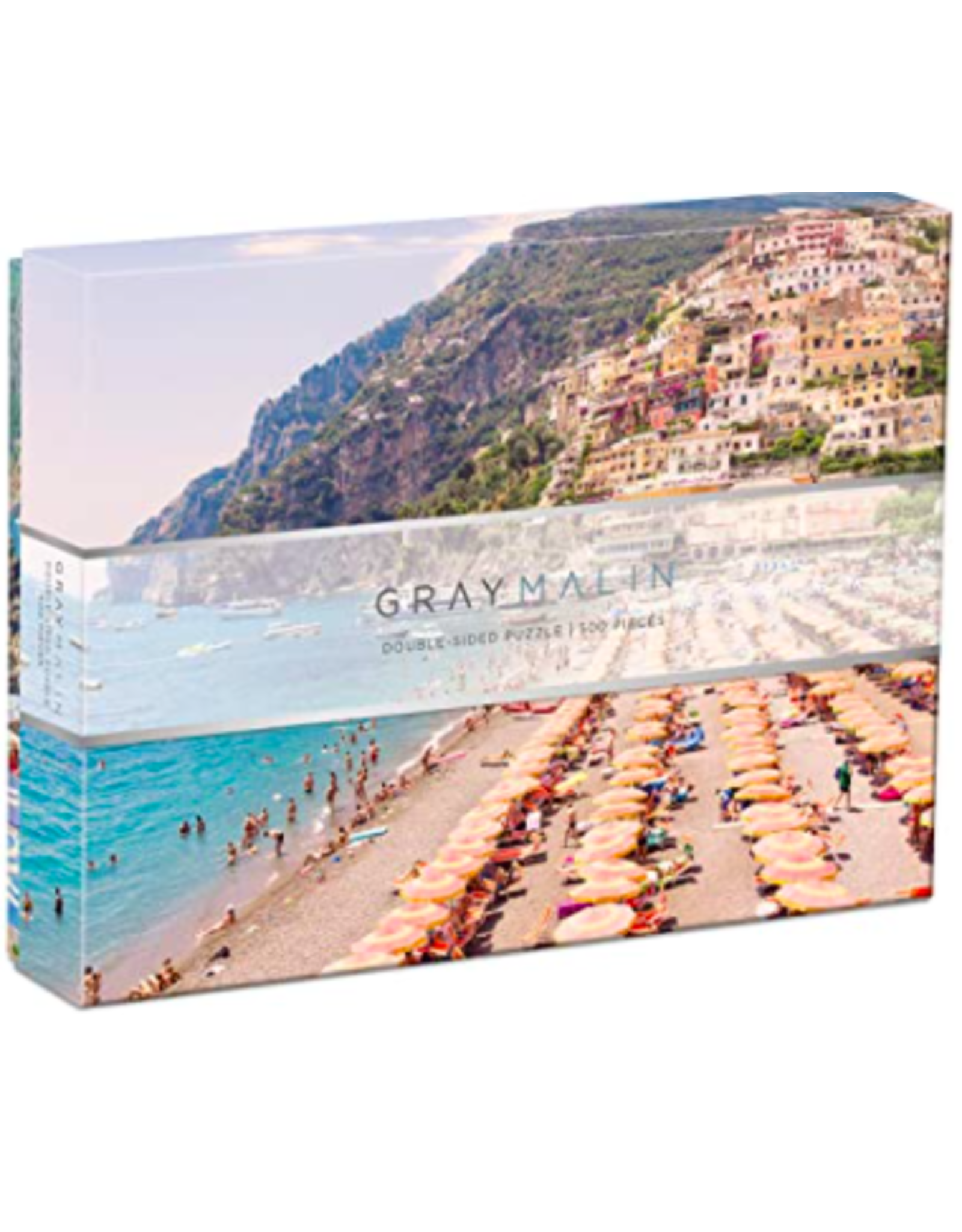 Hachette Italy Double Sided Puzzle by Gray Malin