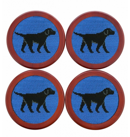 Smathers & Branson Black Lab Coasters