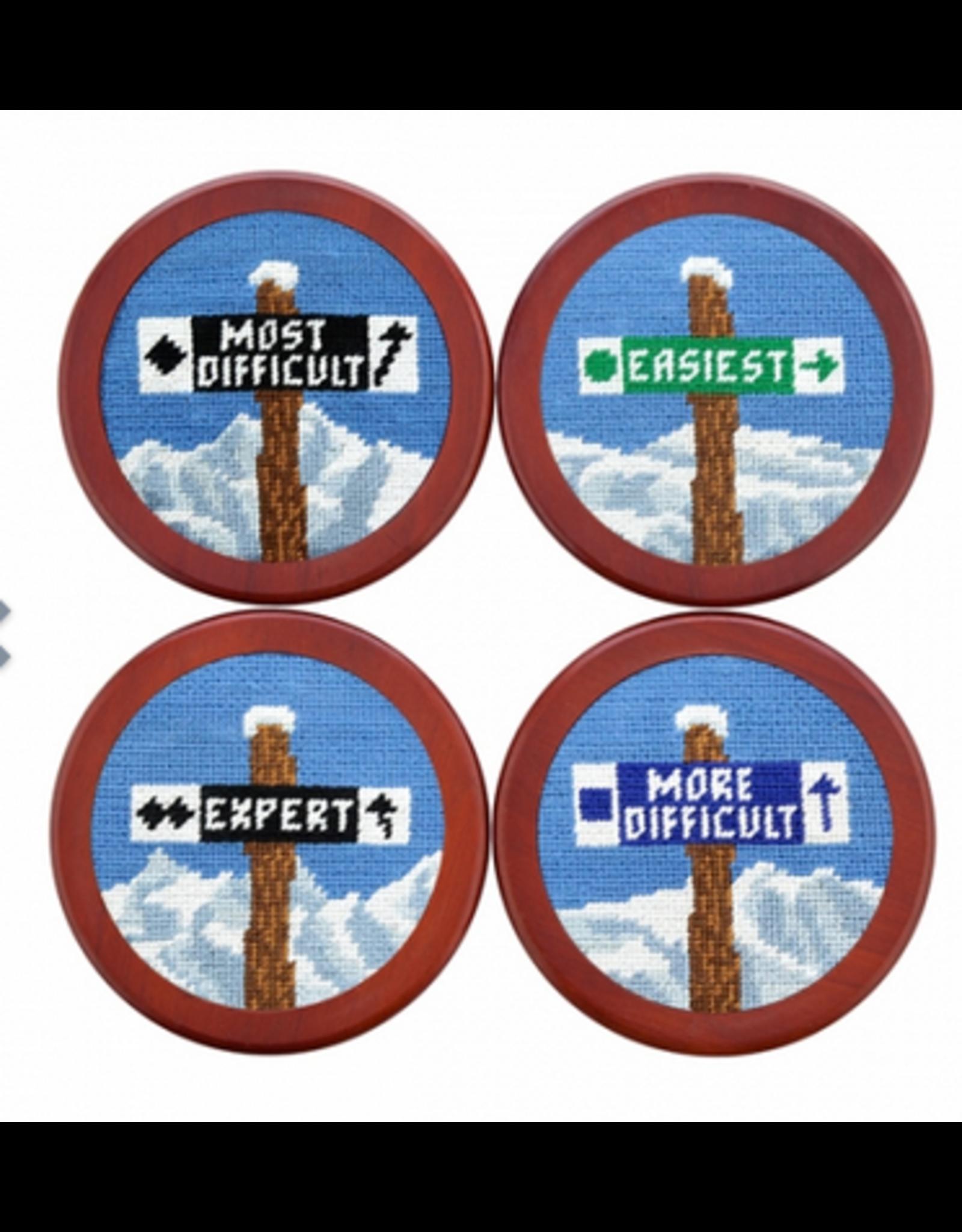 Smathers & Branson Ski Trails Coasters