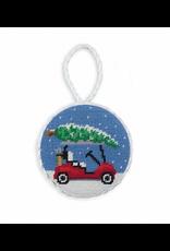 Smathers & Branson Christmas Golf Cart Ornament