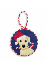 Smathers & Branson Christmas Yellow Lab Ornament