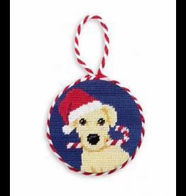 Smathers & Branson Christmas Yellow Lab Ornament