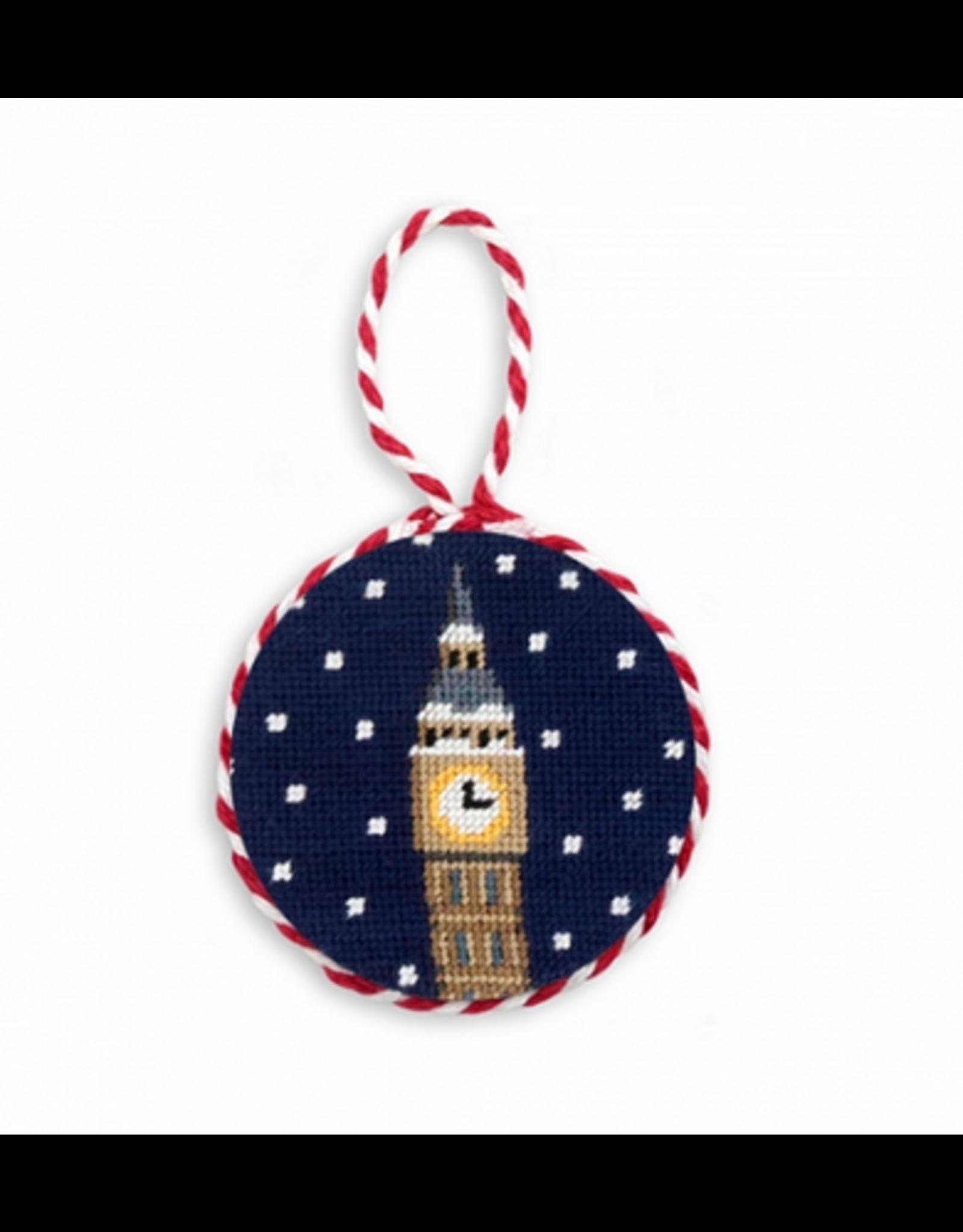 Smathers & Branson Snowy Big Ben Ornament