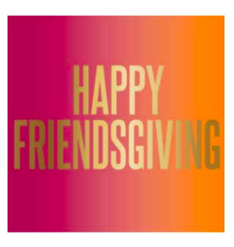 Slant Collections Happy Friendsgiving Napkin