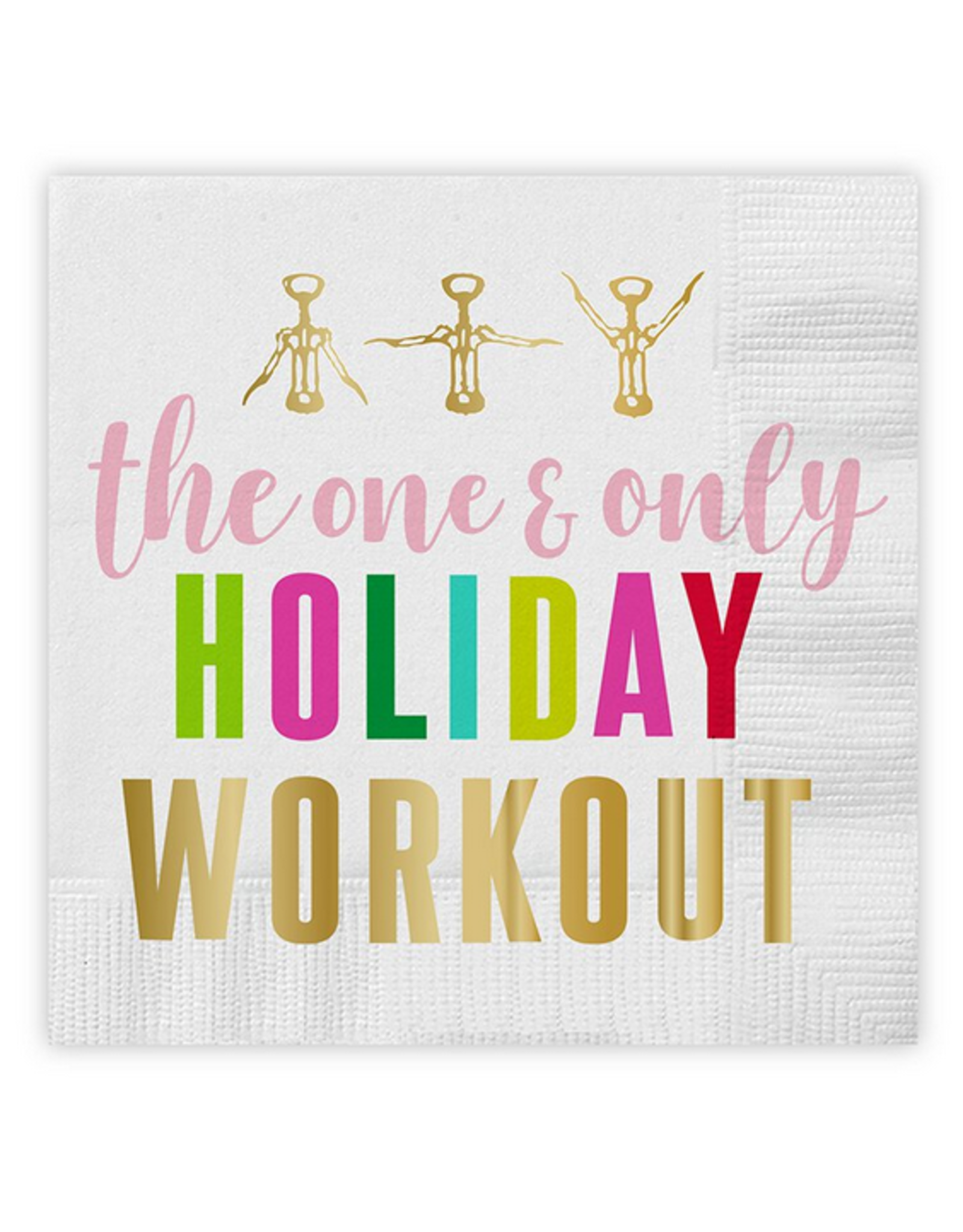 Slant Collections Holiday Workout Napkins