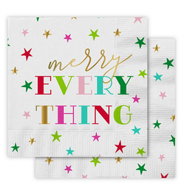 Slant Collections Merry Everything Napkin