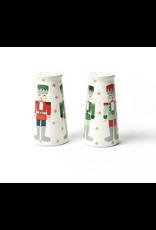 Coton Colors Nutcracker Pedestal Salt & Pepper Shakers