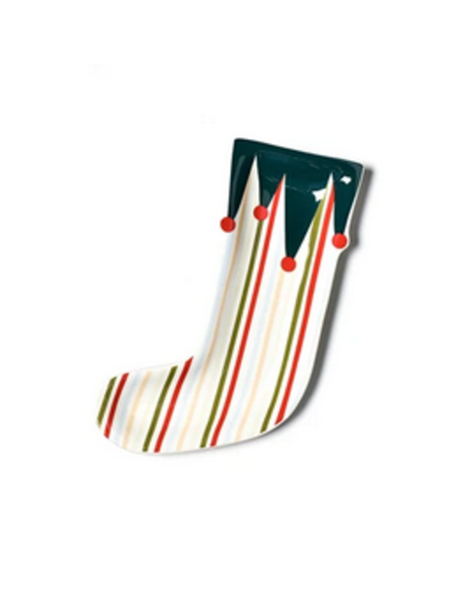 Coton Colors Stocking Shaped Platter