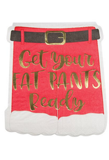 Slant Collections Diecut Fat Pants Napkin