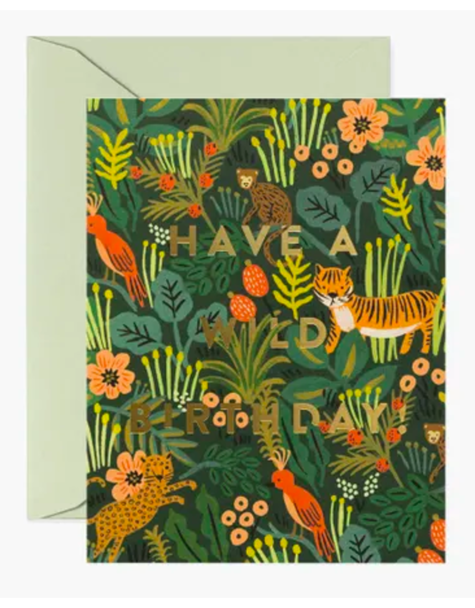 Rifle Paper Co. Wild Birthday Card