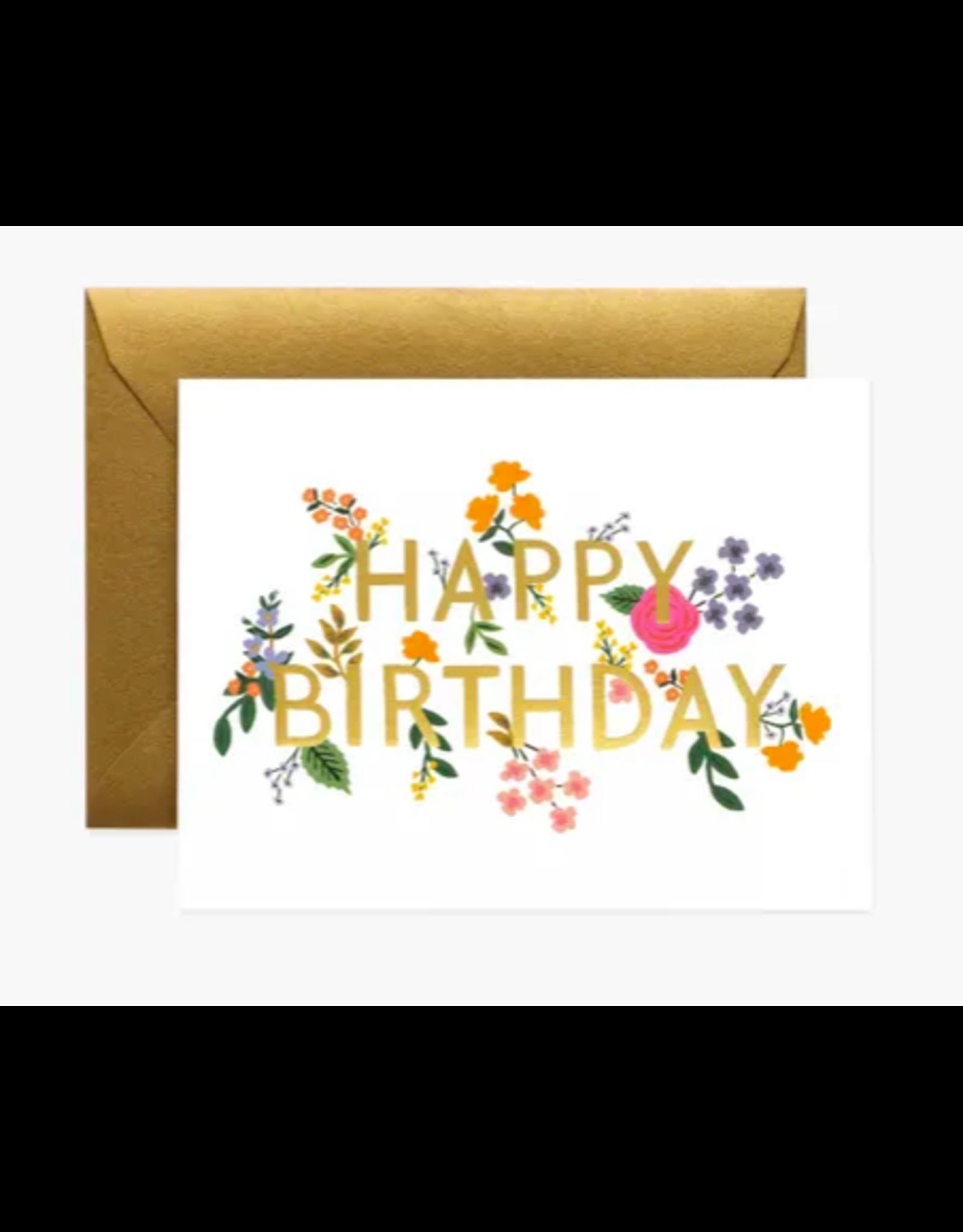 Rifle Paper Co. Wildwood Birthday Card