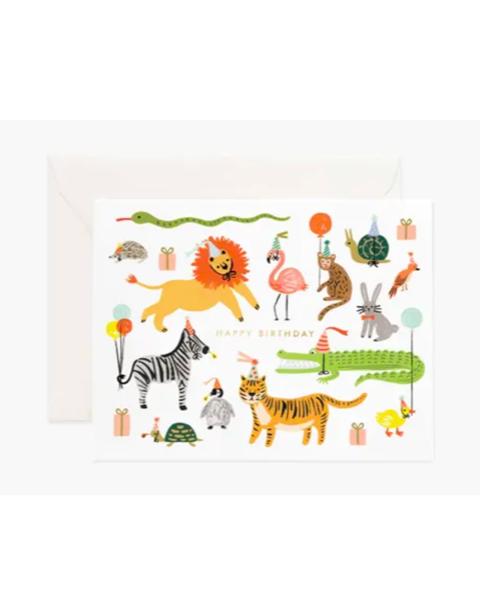 Rifle Paper Co. Party Animals Birthday Card