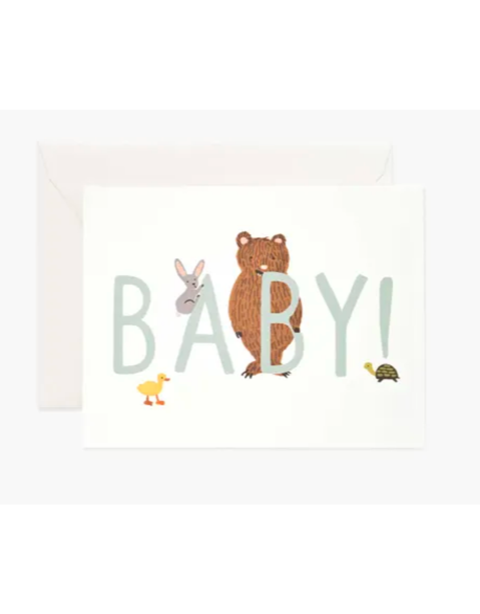 Rifle Paper Co. Baby! Card in Mint