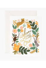 Rifle Paper Co. Menagerie Baby Card
