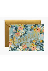 Rifle Paper Co. Blue Meadow Congrats Card