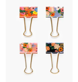 Rifle Paper Co. Lively Floral Binder Clips