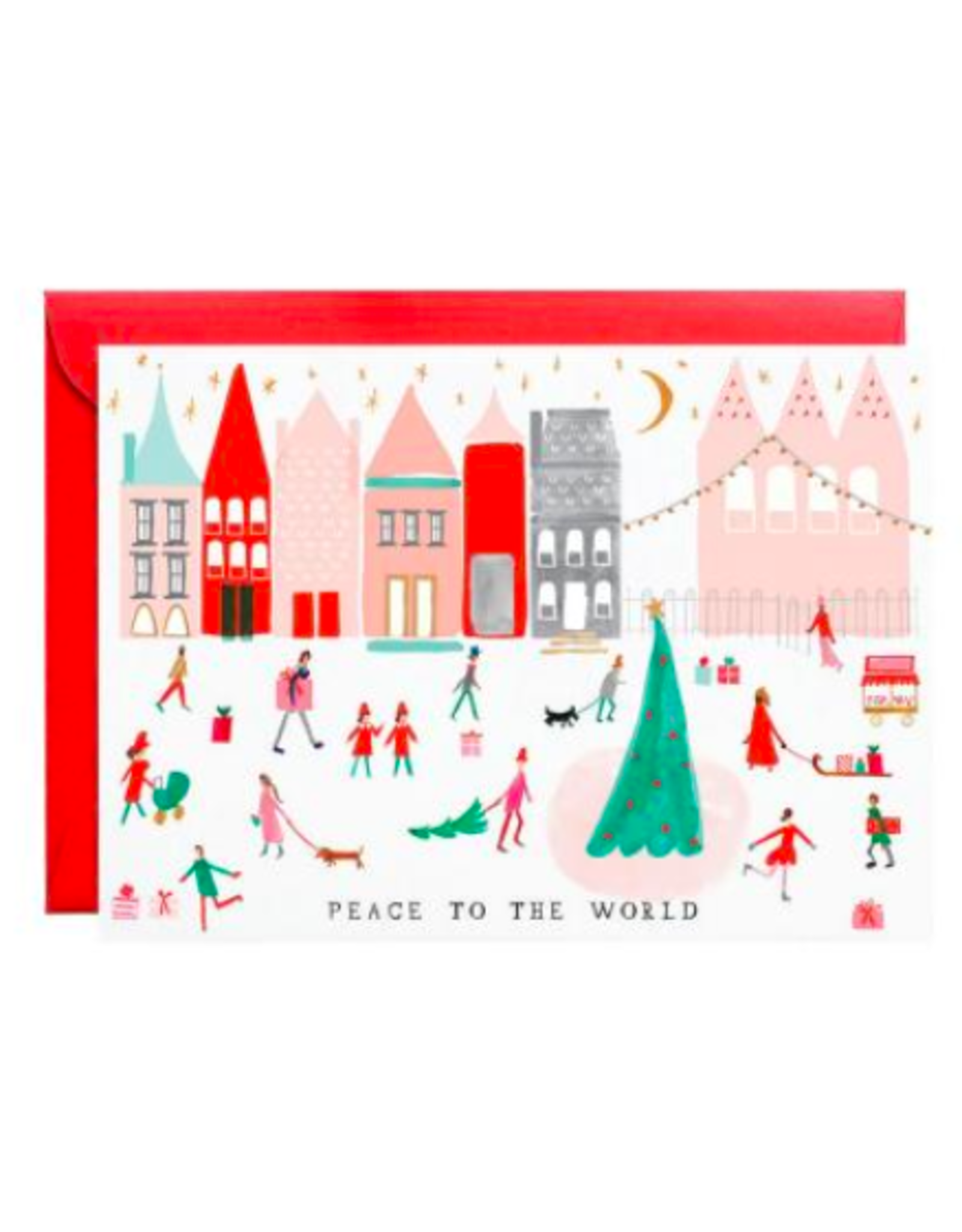Mr. Boddington's Studio Peace to the Whole World Holiday Card Set