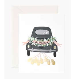 Rifle Paper Co. Just Married Getaway Card
