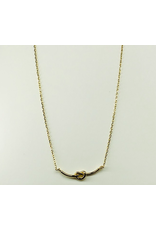 Knot Necklace in Gold